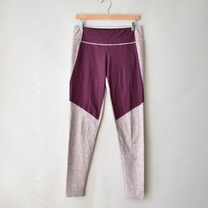 OUTDOOR VOICES 3/4 Two Tone Warm Up Leggings
